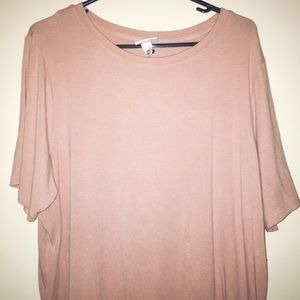 Old Navy Pink Ripped T-Shirt